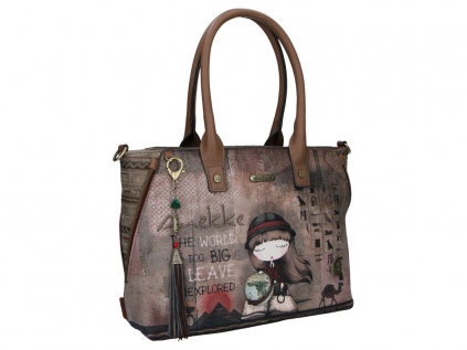 Anekke Egypt designová kabelka do ruky s motivem Exploradora