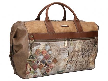 Anekke Egypt designová cestovní taška s motivem Arabescos