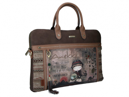 Anekke Egypt designová kabelka na laptop s motivem Exploradora