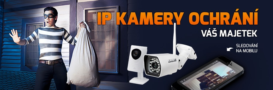 Kabelmanie IP kamery