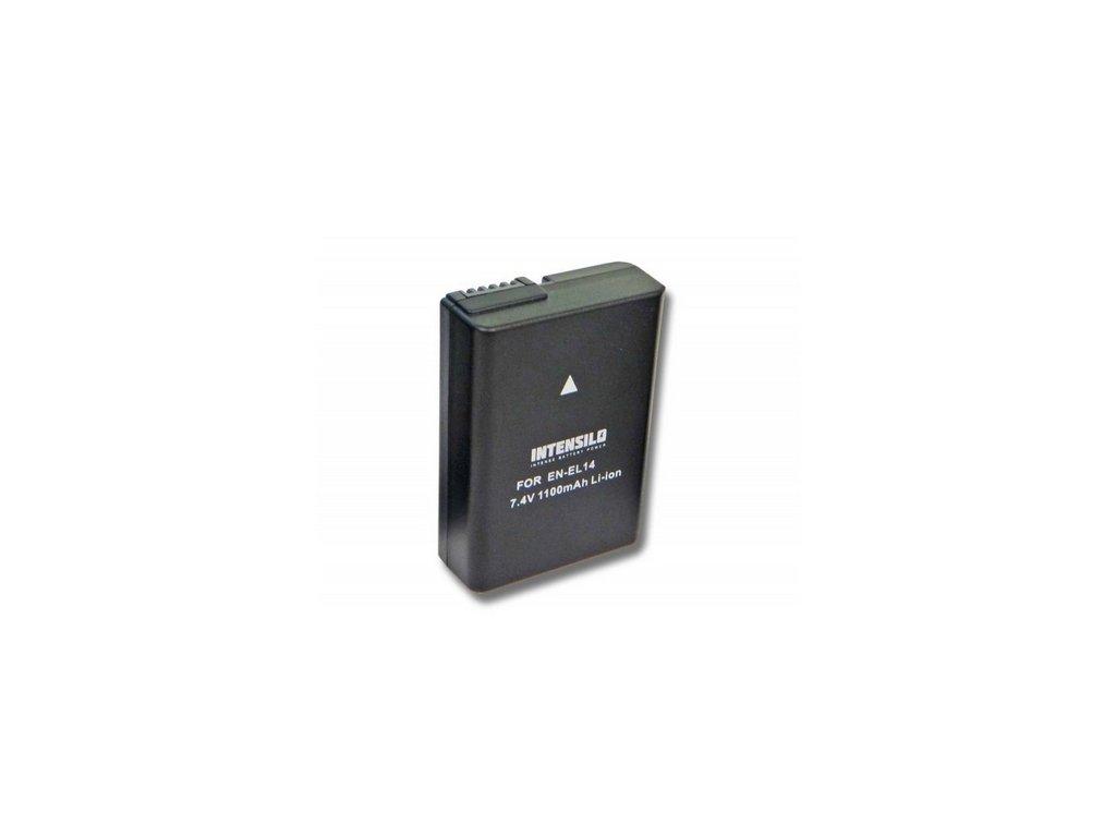 bateria intensilo Nikon D5100, D5200, D5300, D5500, D5600