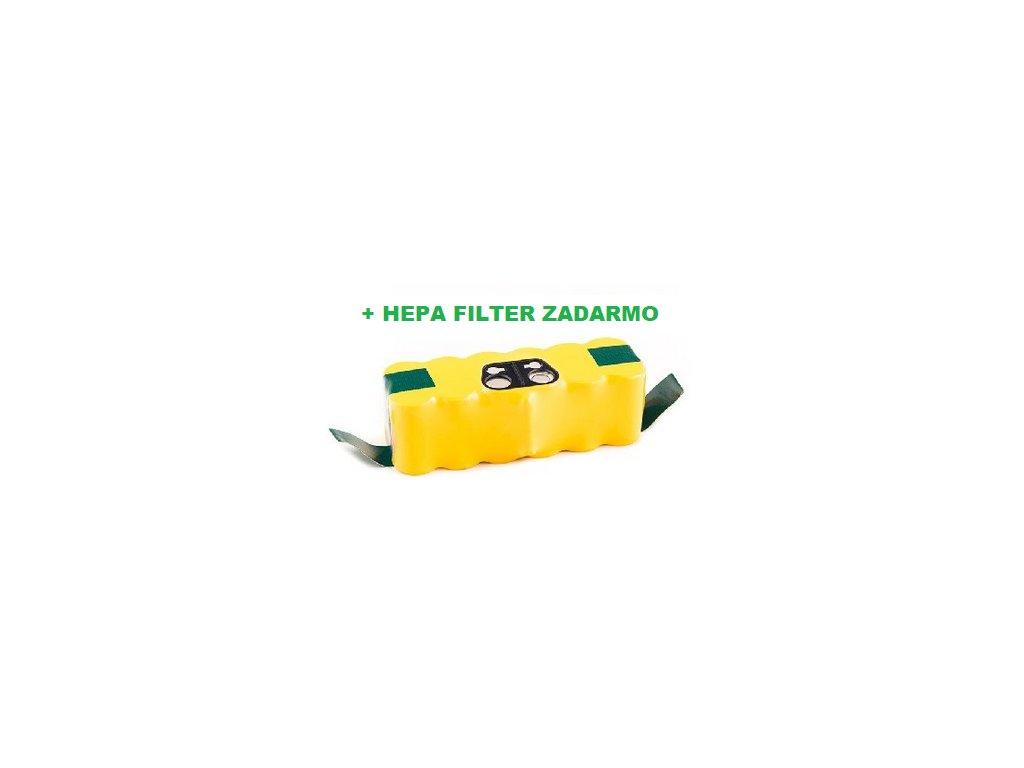 ROOMBA 640 +HEPA ZADARMO