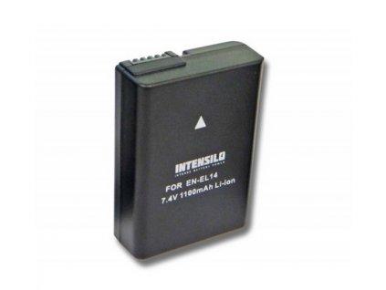bateria intensilo Nikon D3100, D3200, D3300, D3400, D3500
