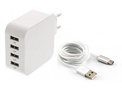 nabíjačka Samsung A3, A5, A7, A8, A8 Plus, C10, C5, C7, C9, S8, S8, S8, S8 Plus, S9, S9 Plus - USB-C