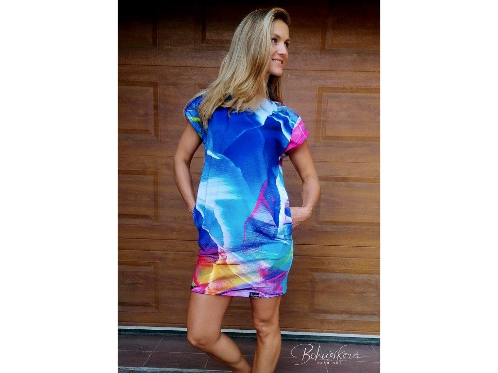 Oversize šaty - Splynutí