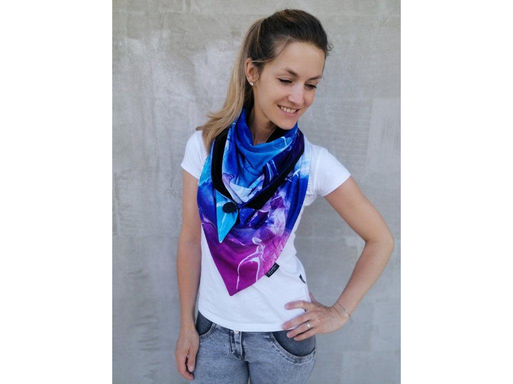 Šátek design - Mámení
