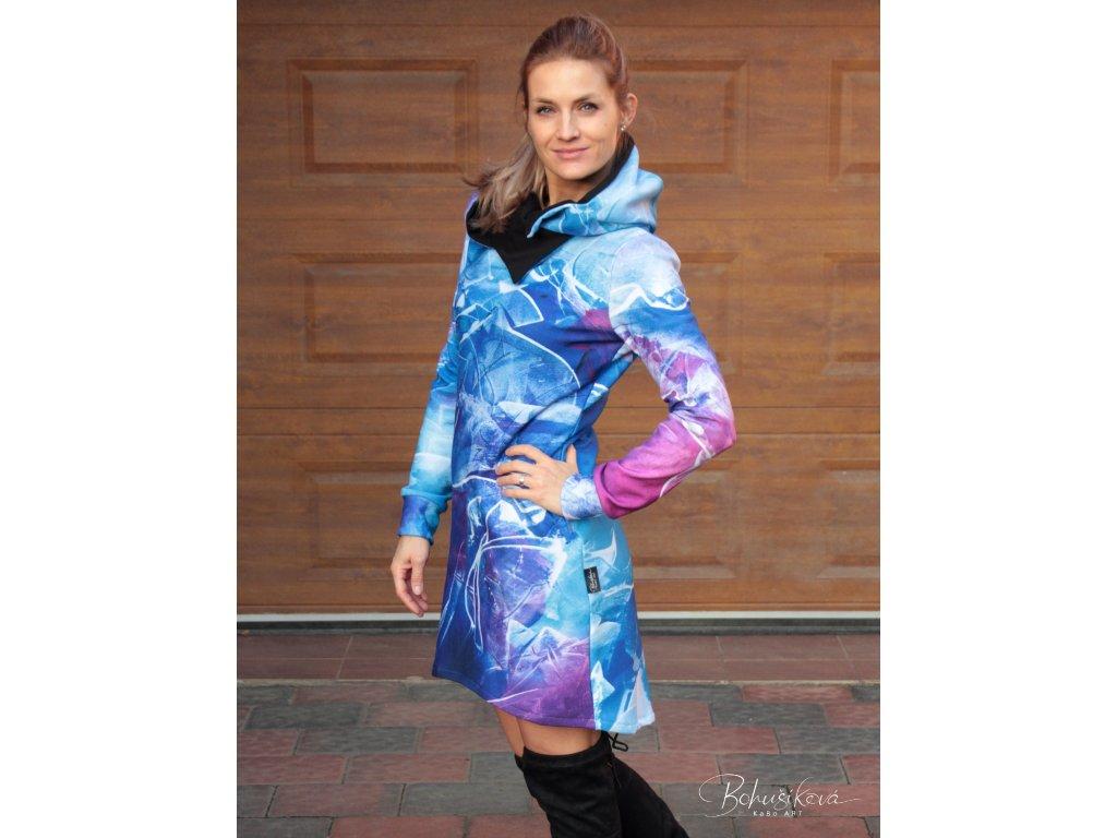 Zateplené šaty - Mámení