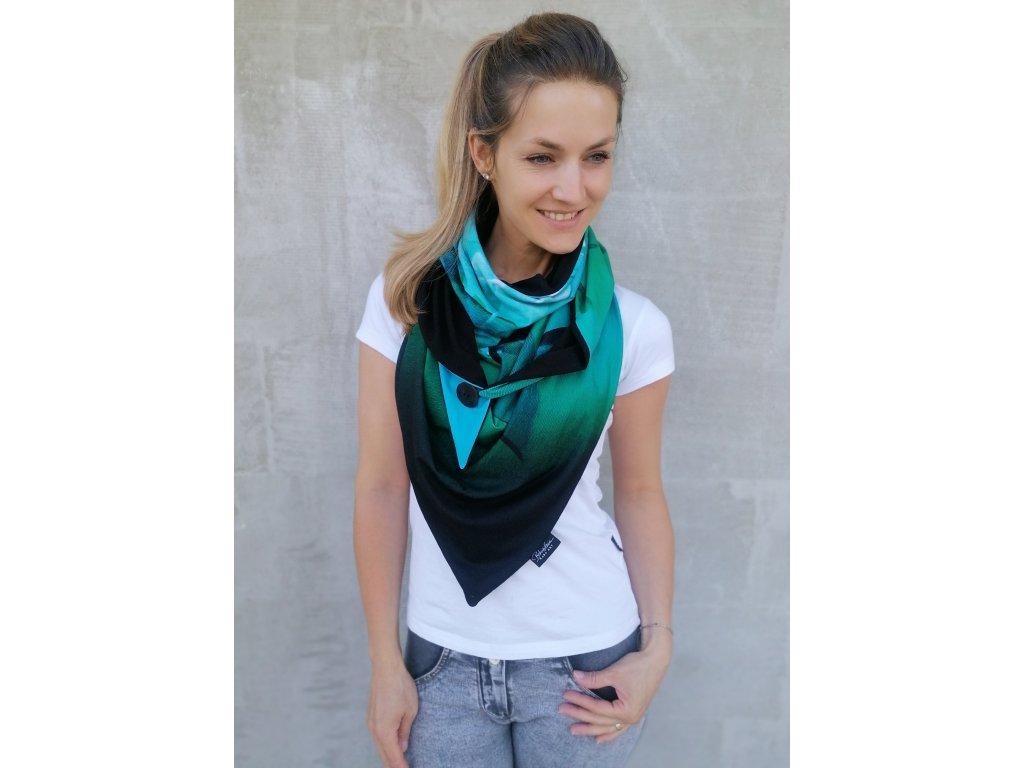 Šátek design - Laguna