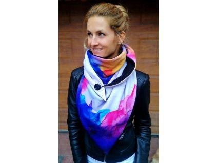 Šátek zimní - Přivoň si