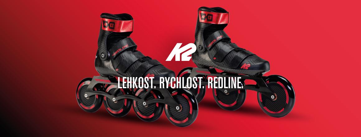 inline brusle K2 REDLINE