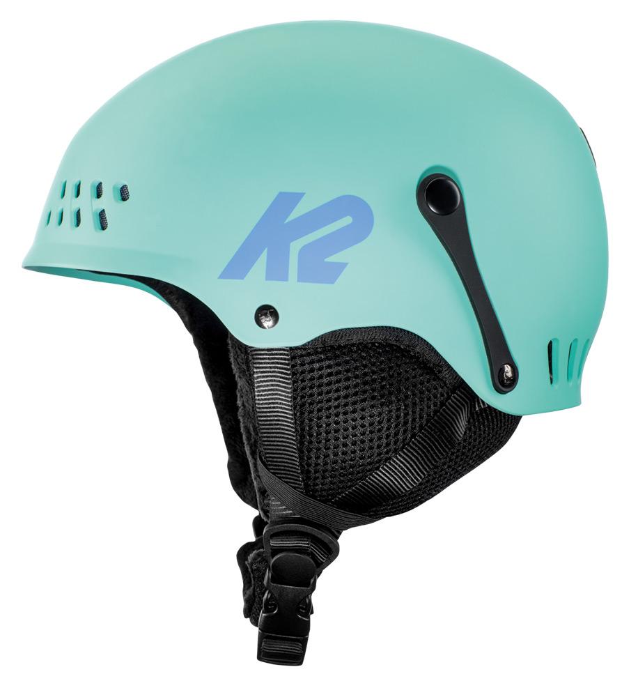 dětské lyžařské helmy K2