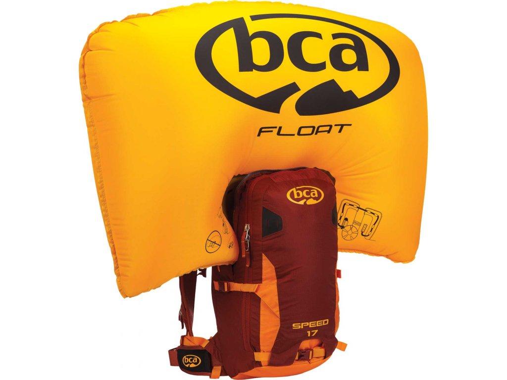 BCA FLOAT 2.0 - 17 SPEED orange - maroon (2019/20)