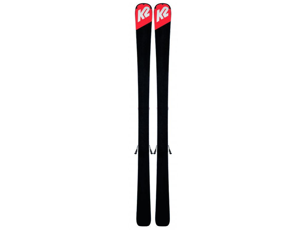 K2 ANTHEM 78 + ER3 10 COMPACT QUIKCLIK black-coral red SET (2019/20) (velikost 167 cm)