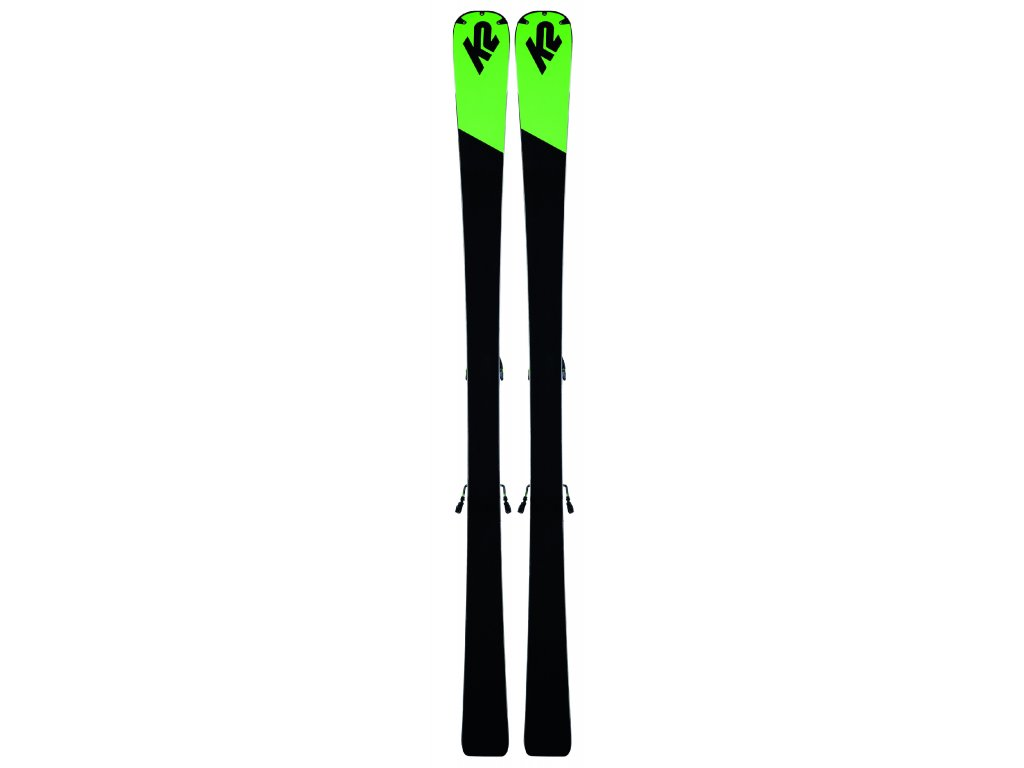 K2 TURBO CHARGER + MXC 12 TCx light QUIKCLIK black - green SET (2019/20) (velikost 172 cm)