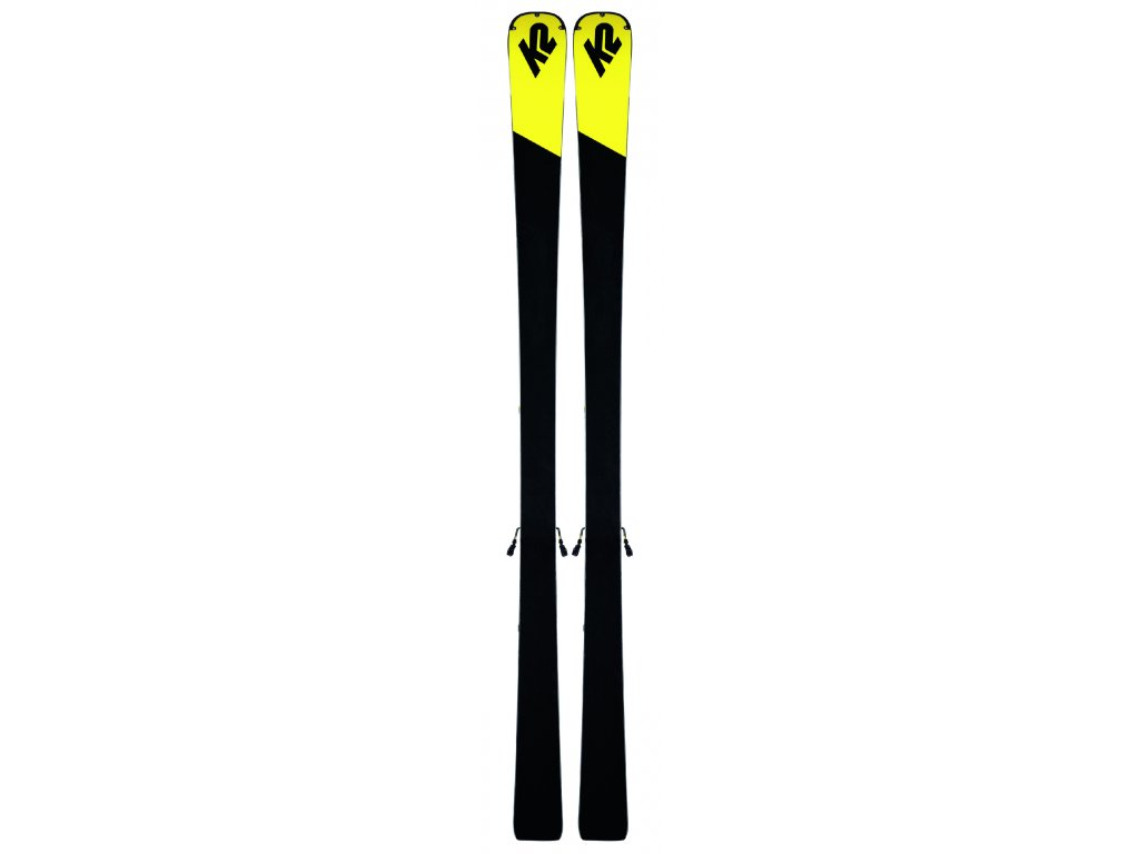 K2 CHARGER + M3 11 TCX LIGHT QUIKCLIK black - yellow SET (2019/20) (velikost 175 cm)