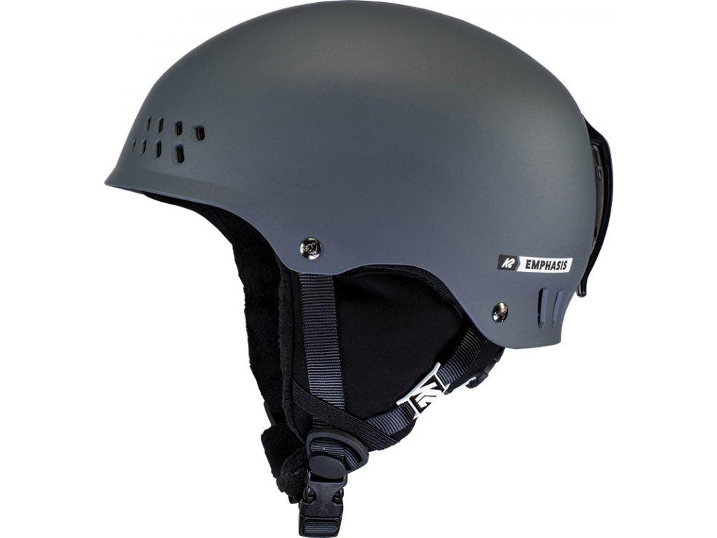 10E4008 1 2 K2 Helmet Emphasis Charcoal
