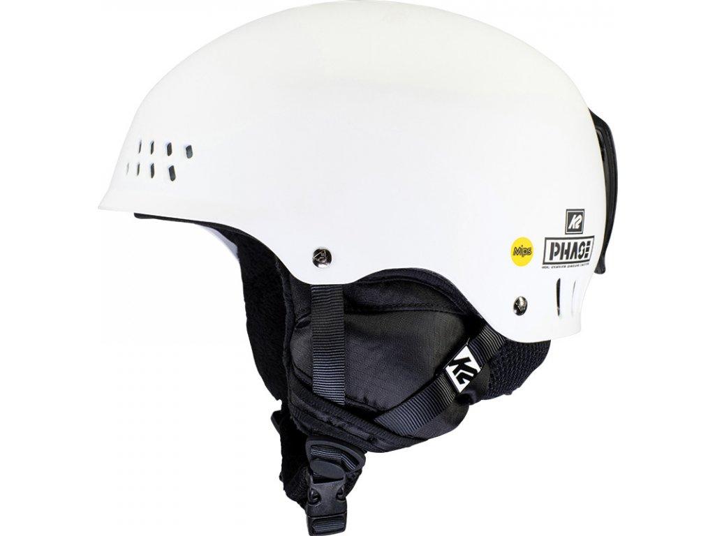 10E4021 1 2 K2 Helmet PhaseMIPS White
