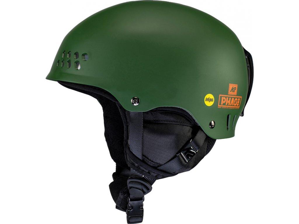 10E4021 1 3 K2 Helmet PhaseMIPS ForestGreen