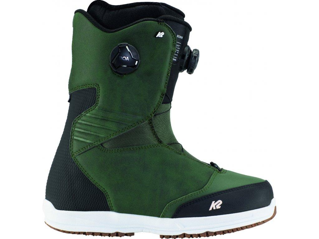 11E2004 1 2 K2 Boot Renin Green 07
