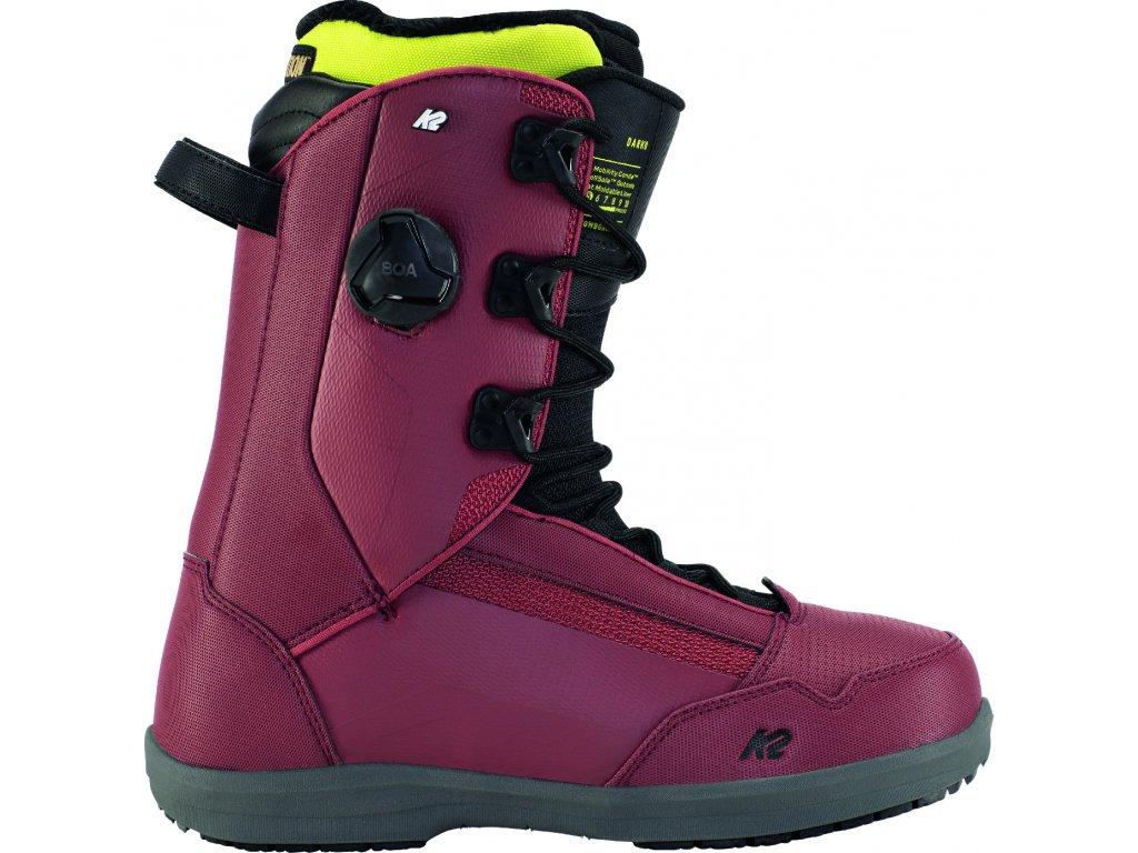 11E2010 1 3 K2 Boot Darko Burgundy 07