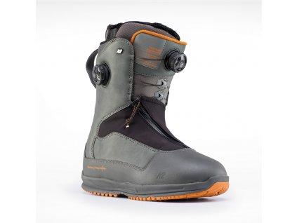 K2 TARO TAMAI SNOWSUFER grey (2019/20) (velikost EU 46)