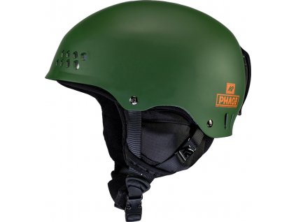 10E4013 1 2 K2 Helmet PhasePro ForestGreen