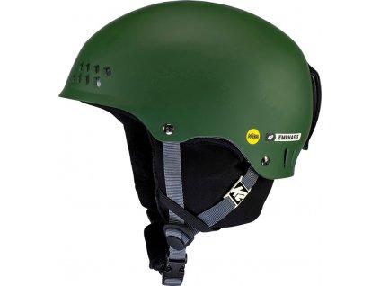 10E4023 1 3 K2 Helmet EmphasisMIPS ForestGreen
