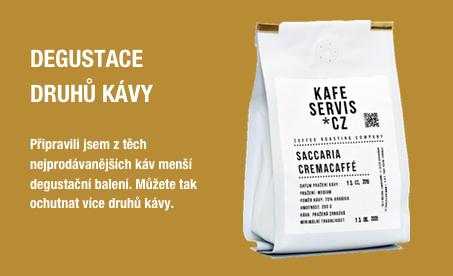 Degustace kávy