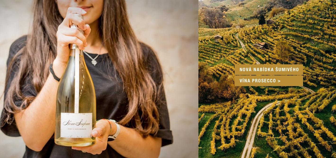 Nová nabídka šumivého vína Prosecco