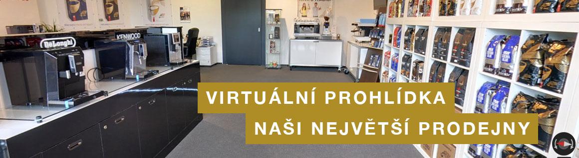 Virtuální prohlídka prodejny Kafeservis