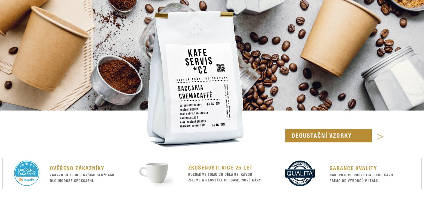 Degustační balení kávy