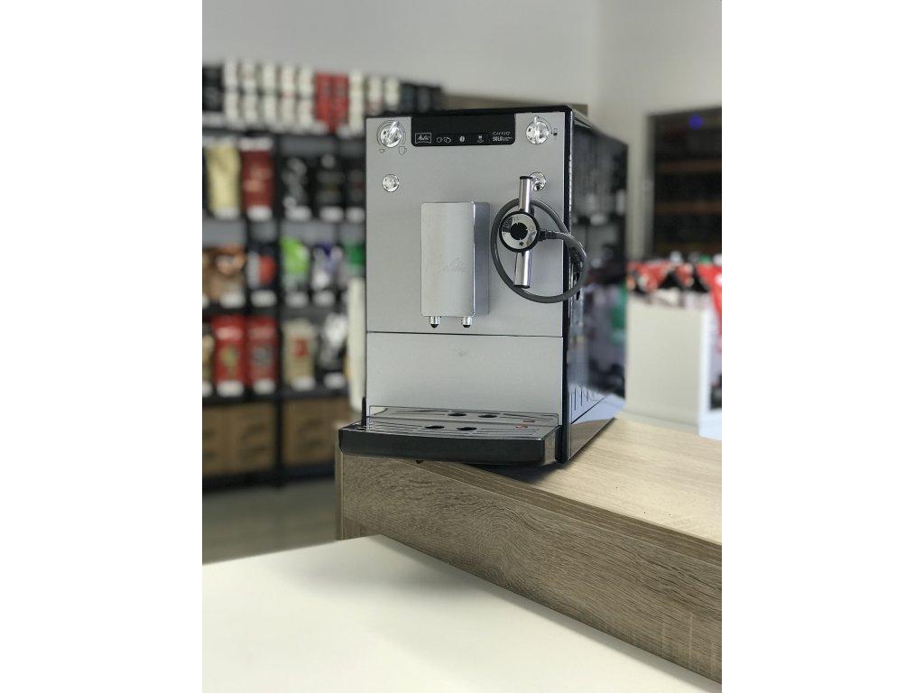 Melitta Solo Perfect Milk Stříbrná - předváděcí model