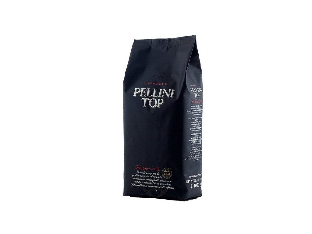 Pellini TOP 100% Arabica 1 Kg zrnková káva