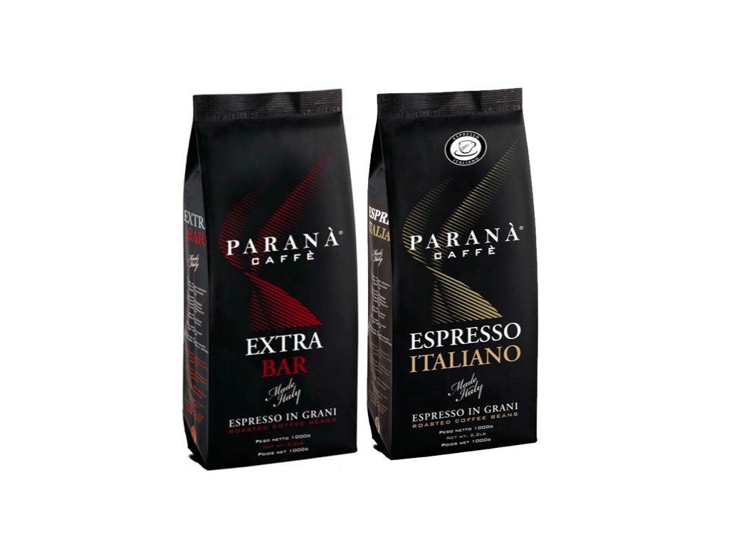 Vyzkoušejte Paraná caffé degustační balení