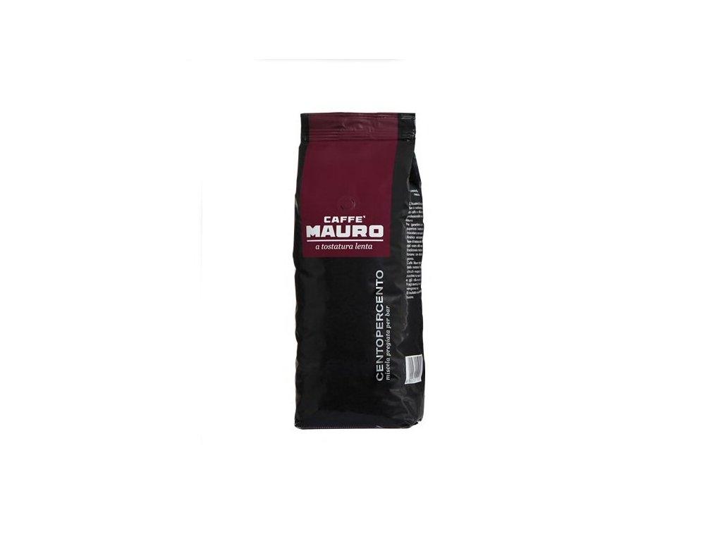 mauro caffe centopercento 1kg zrnkova kava original