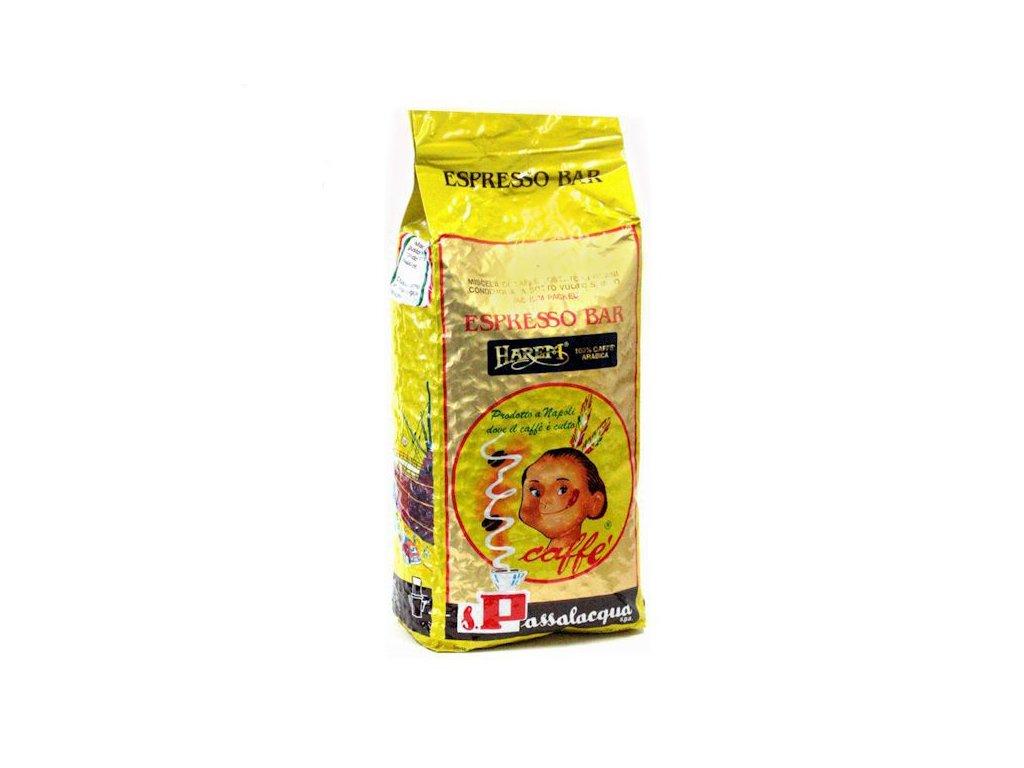 passalacqua harem 1kg zrnkova kava original