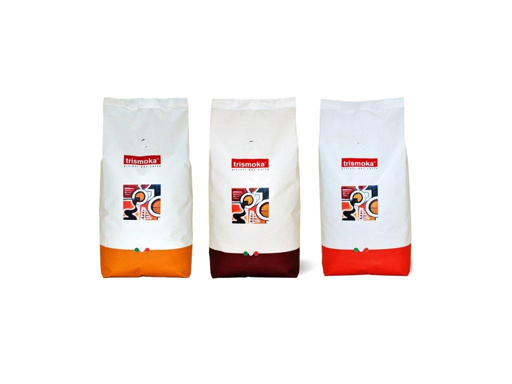 Degustatní balíček Trismoka 3 x 1 Kg kávy