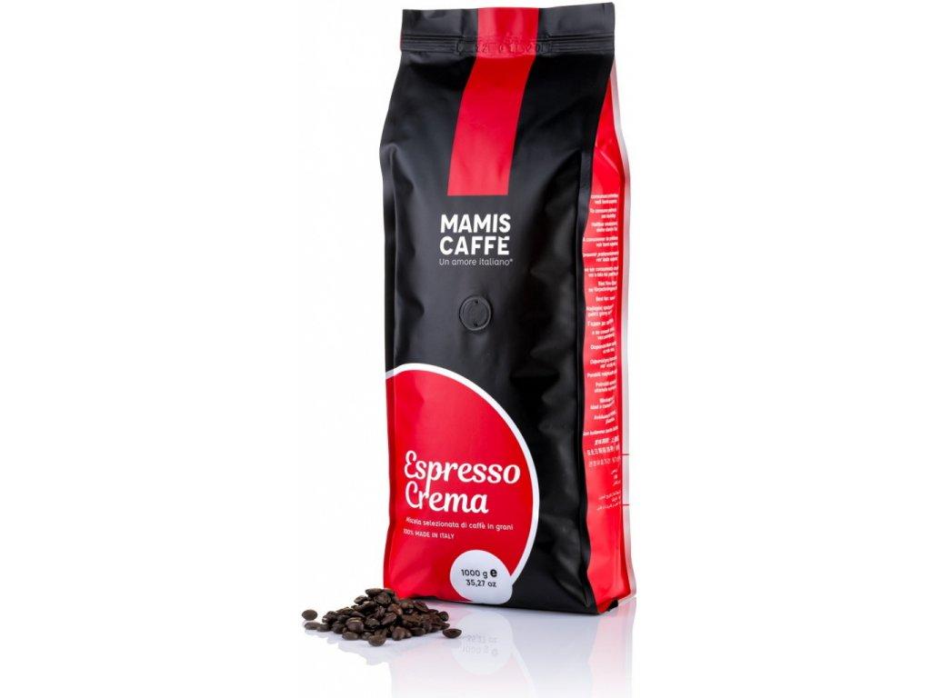 Mamis caffé Espresso Crema 1 Kg zrnková káva