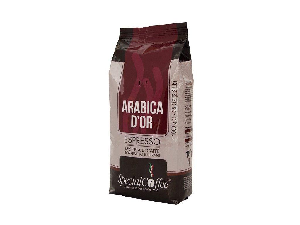 SpecialCoffee Arabica d'Oro 100% arabica 1 Kg zrnková káva