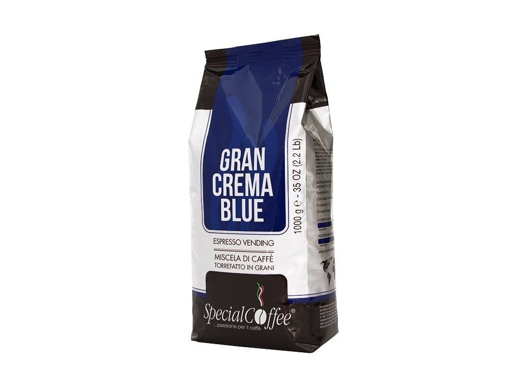 SpecialCoffee Gran Crema Blue 1 Kg zrnková káva