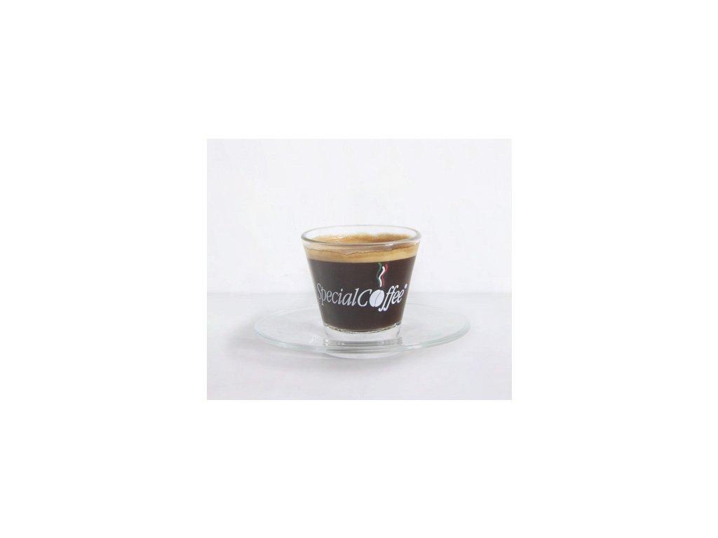 SpecialCoffee Espresso sklo sada šálků 6 Ks