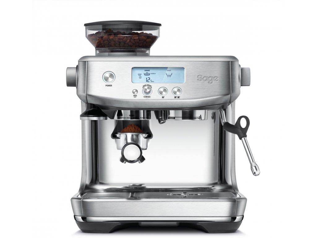 Sage THE BARISTA PRO SES878BSS  + poukaz 200 Kč na nákup kávy + degustační balení kávy La Borsa