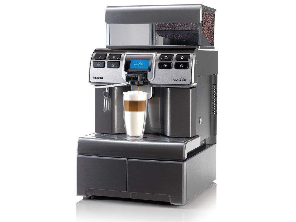 pol pl Ekspres do kawy Saeco Aulika Top RI High Speed Cappuccino V2 Antracite 2221 1