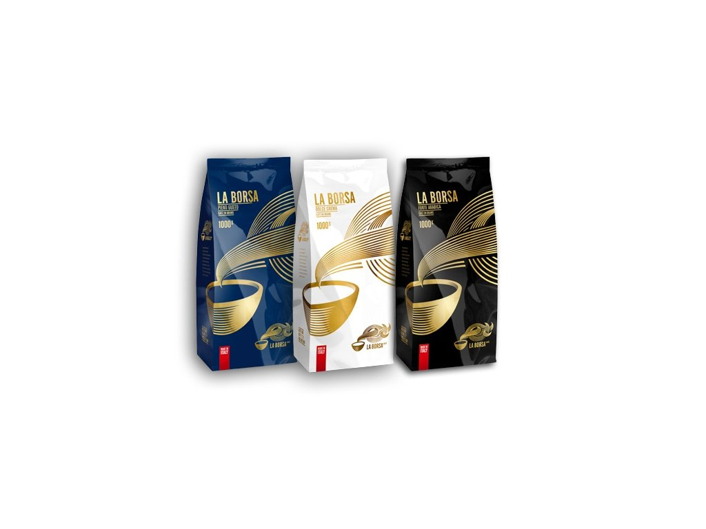 Vyzkoušejte La Borsa caffé 3 Kg zrnková káva