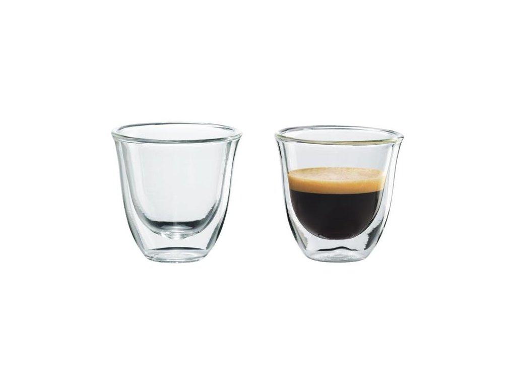Sklenice na espresso DeLonghi 2 ks