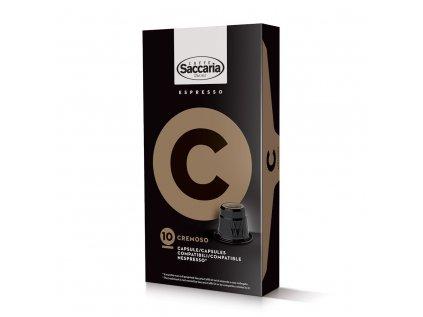 Kapsle Saccaria Cremoso 100 Ks zvýhodněné balení