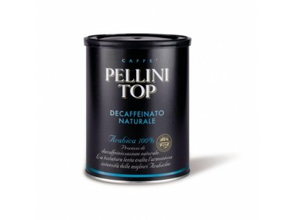 Pellini TOP Decaffeinato 250 g mletá káva