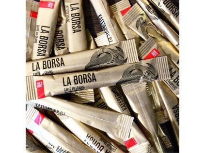Cukr La Borsa hnědý 1000 ks