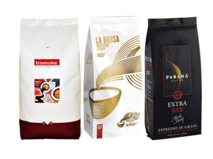 Premiový výběr kávy 3 x 1 Kg