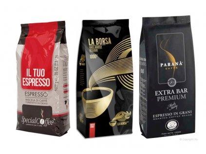Zvýhodněné balení kávy 3x1 Kg OPTIMUM 2